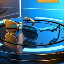 Neueste Bluetooth Kopfhörer Smart Gläser Austauschbare rezept linsen Bluetooth Kopfhörer Stereo Musik Sonnenbrille Für Huawei