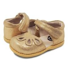 Livie & Luca Petal Kids Leather Shoes For Girls Flower Casua