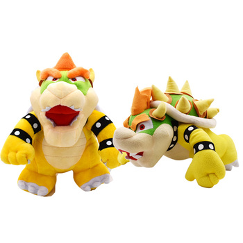 7 inches 18cm super mario bros koopa bowser plush toys with tag high quality gift for children 2Styles Super Mario Broser Plush Toy Kubah Koopa Dragon Bowser Stuffed Doll Soft Plush Doll Gift For Children