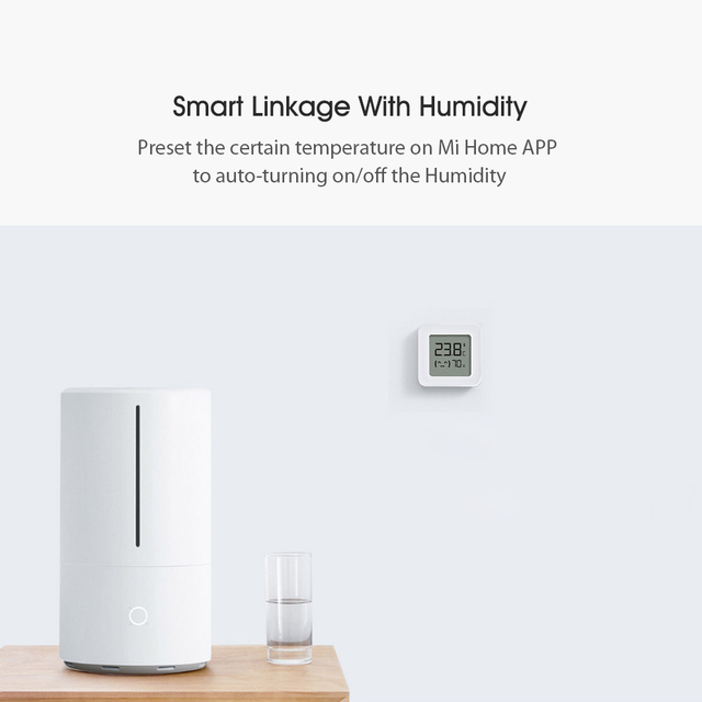 2021 Xiaomi Mijia Bluetooth-compatible Thermometer 2 Wireless Smart Electric Digital Hygrometer Thermometer Work with Mijia APP 2