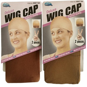 10 pieces Brown Wig Cap Hairnet Hair Mesh Wig Weaving Cap Stretchable Elastic Hair Net 5 color 2 Pieces/PACK(China)