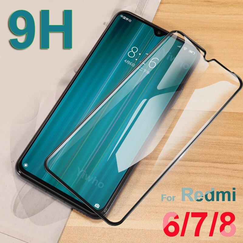 Tempered Glass For Xiaomi Redmi Note 8 Pro 8A 7 7A 6 6A Screen Protector On For Xiomi KSIOMI Xaiomi Redmi Note8 Protective Film