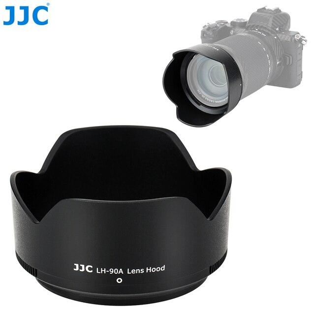 JJC 花びらスタイルバヨネットレンズフードニコンニッコール Z DX 50 〜 250 ミリメートル f/4.5 6.3 VR レンズニコン Z50 置き換え HB 90A レンズ