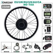 Один день 36 в 48 в 350 Вт комплект для преобразования электрического велосипеда 16 20 24 26 27,5 28 дюймов 700C Задняя кассета Ступица колеса мотор для к...