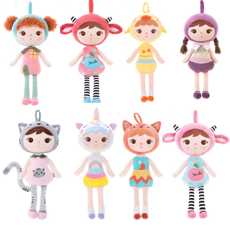 10 pièces 20 pcs/lot 45CM nouveau Metoo chat poupée en peluche animaux en peluche enfants jouets pour fille enfants anniversaire noël cadeau livraison directe