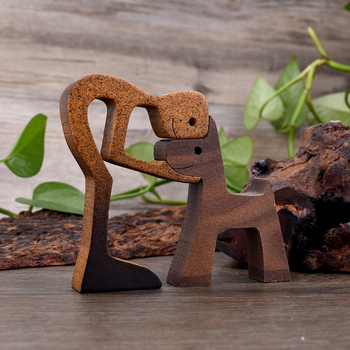 Dog Wood Decor  2
