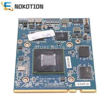 NOKOTION IAL00 LS-333AP For HP 8710W 8710P VGA Video GPU graphics card nvidia NVS 320M image