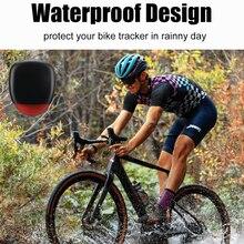 Велосипедный GPS-трекер светодиодный светодиодной подсветкой, велосипедный задний фонарь, устройство против потери, велосипедный трекер