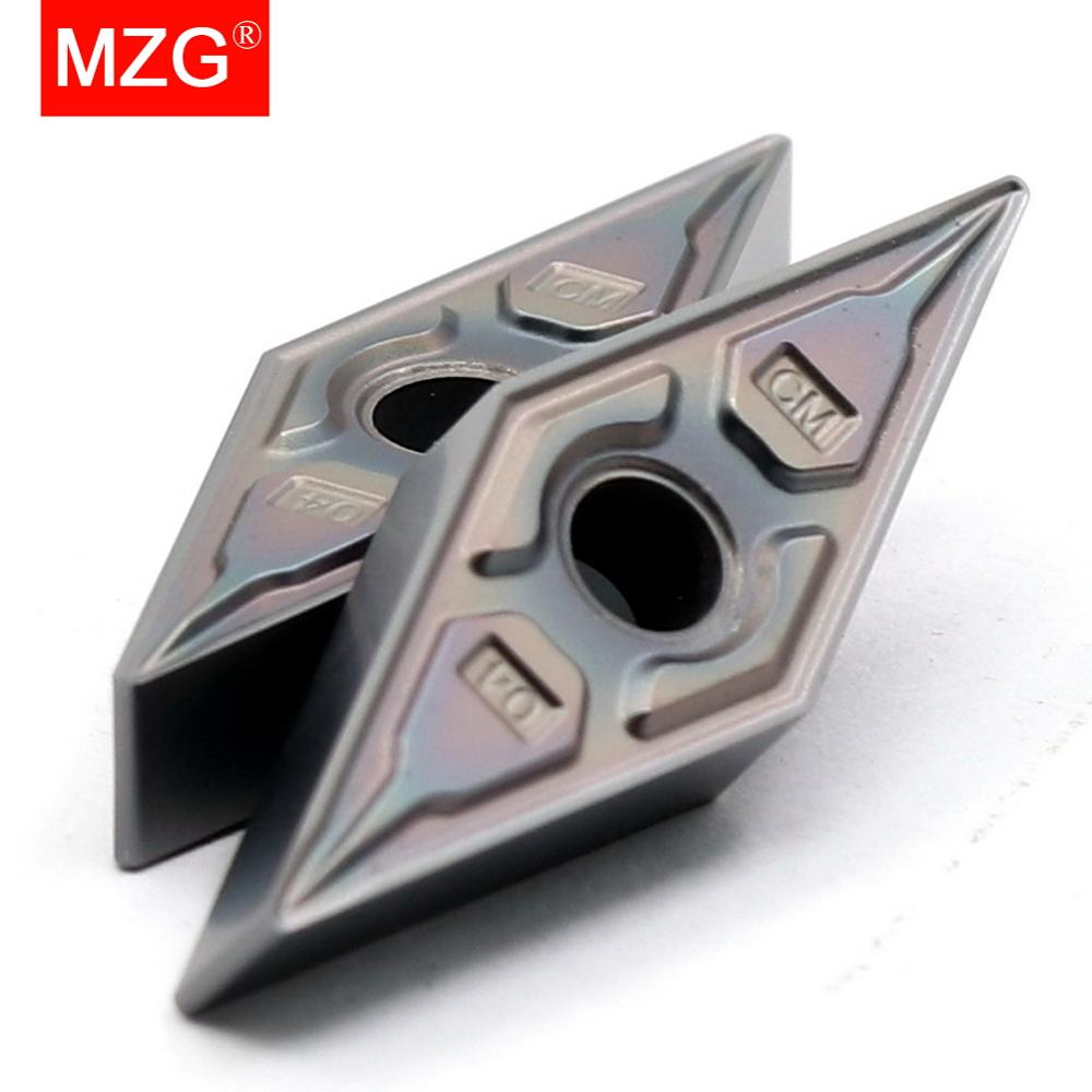 MZG VNMG160404 CNC Turning Tools Titanium Hard Steel Indexable Carbide Inserts