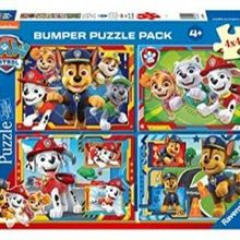 Set 4 Puzzles Patrol Canina Ravensburger Paw Patrol Nickelodeon