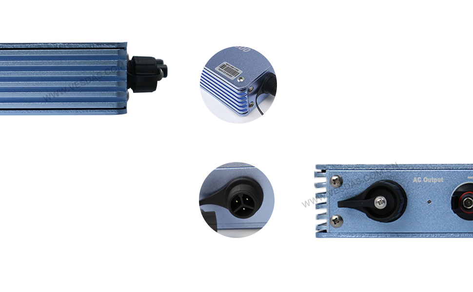 Hf655912fe862475cb2c58d4d2e6d83040 - 300W Micro Inversor Solar MPPT Grid Tie Inverter Microinverter 24V 220V Pure Sine Wave Inverter 22-50VDC Wtih 1 Year Warranty