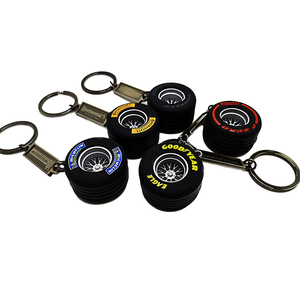 Image 5 - LQY 2020 keychain car business Tire interior accessories keyring Creative Auto Accessories new