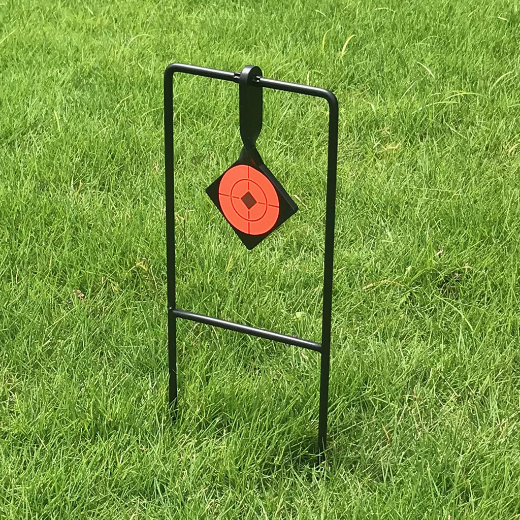 Metal Self Resetting Spinning Target Shooting Practice Targets