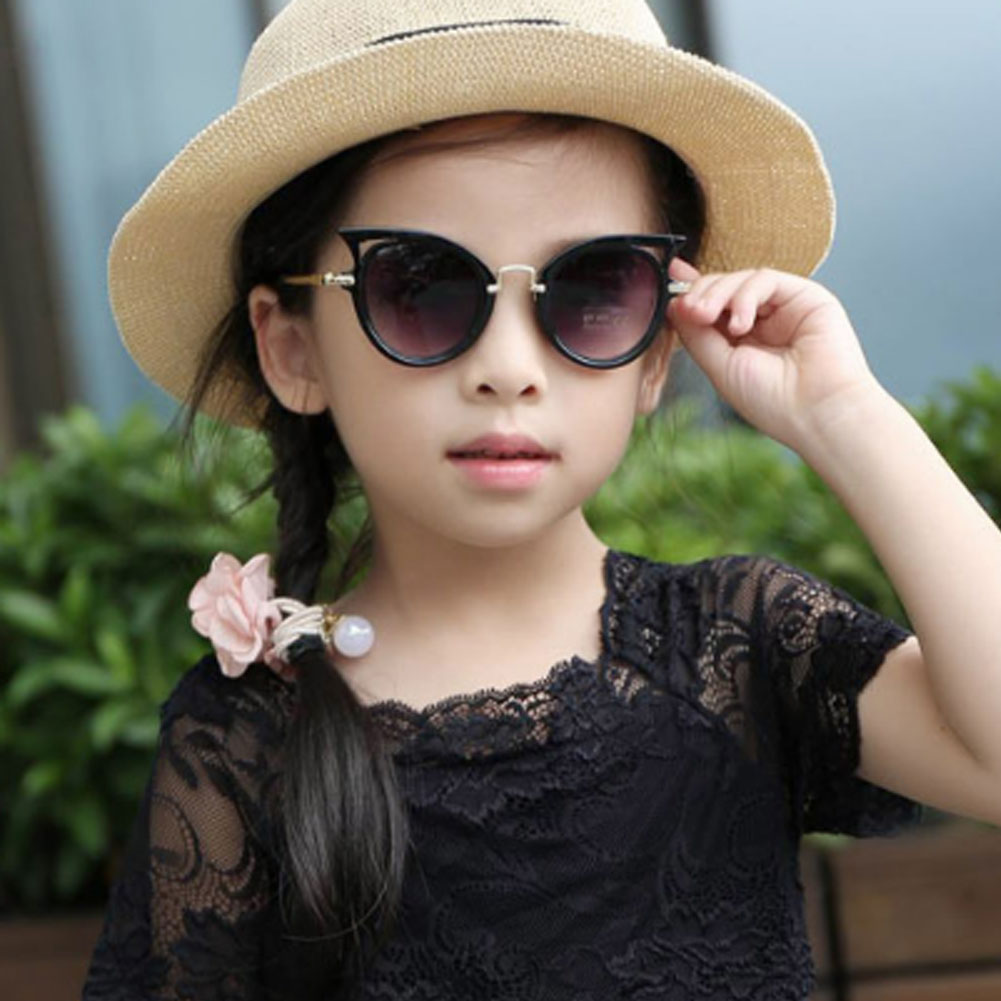 Kid Goggles Baby Summer Accessories Boy Girl Glasses Protection Outdoor Holiday Sunglasses Cat Shape Sunglasses Gifts UV400