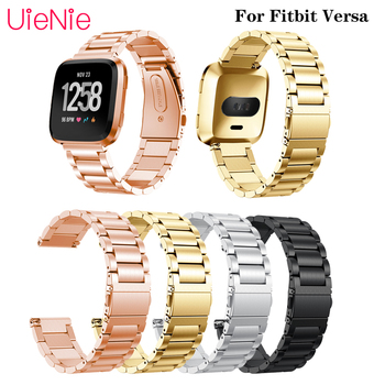 Alloy Strap For Fitbit Versa Luxury Wrist Band Jewelry Buckle Replacement Watch band Accessories For Fitbit Versa 2/Lite Strap for fitbit versa 2 wristband band for fitbit versa versa lite strap wrist bracelet for fitbit lite verse 2 smart accessories