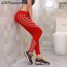 High Waist Sexy Leggings Laser Print Patchwork Mesh Workout Women Gothic Slim Fitness Plus Size Sport Pants