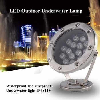 LED Underwater Lights 18W RGB Color Changing DMX512 IP68 Waterproof Joint for Party Swimming Pool Fountain Water Rockery Grass - DISCOUNT ITEM  42% OFF All Category
