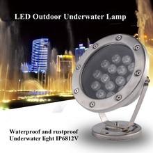 Underwater Led Lights Waterproof Light Fish Aquarium Decorations Fountain Pond Ip68 24w 36w DMX512