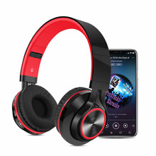 Foldable Wireless bluetooth Headphone FM Radio SD/TF Card NFC MP3 player Stereo