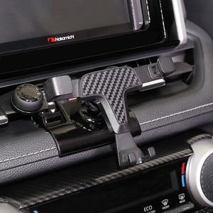 Image 5 - トヨタ RAV4 RAV 4 XA50 2019 2020 自動車電話ホルダー香り特別なサイズ炭素繊維車の香水