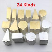 100 pçs/set Ouro prata Mousse Tapete de Espuma Inferior Base de Bolo de Placas de Papel Placa de Forma prato de Sobremesa Bandeja de Ferramentas de Decoração Do Bolo de Natal