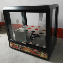 Commercial small desktop insulation display cabinet