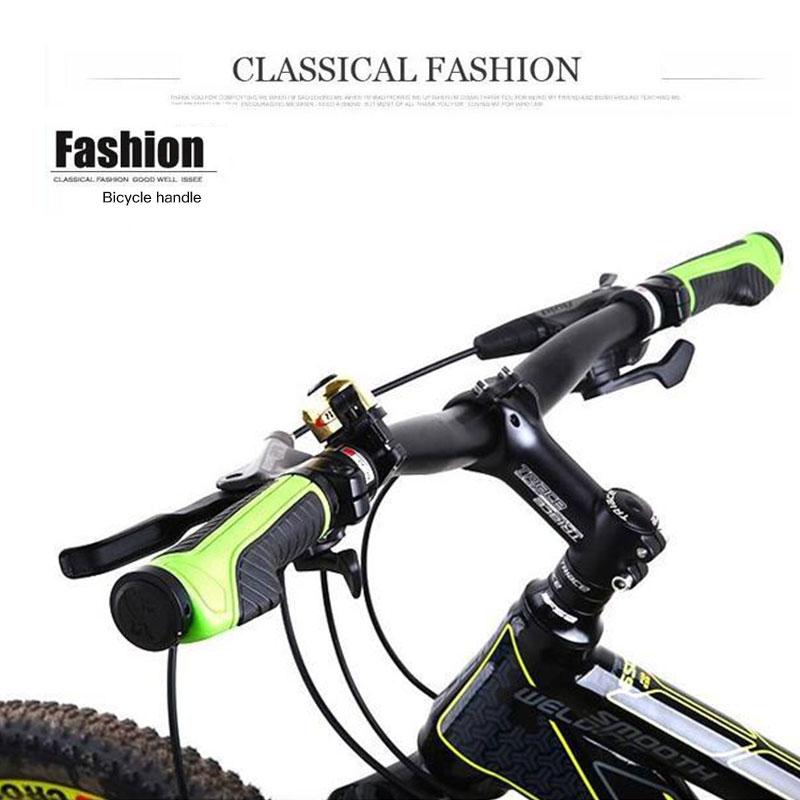 Упоры для рук на руль велосипеда эргономичные рожки руля твердое крепление обоих концевых замков рукоятка руля 2 цвета тон держатель MTB велосипедная опора для рук