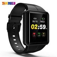 SKMEI Colorful HD Screen Men Digital Watch Heart Rate Monitor Sport Watches IP67 Waterproof Male Wristwatch Relogio Masculino