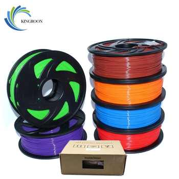 PLA 1.75mm Filament 1KG Printing Materials Colorful For 3D Printer Extruder Pen Rainbow Plastic Accessories Black White Red Gray