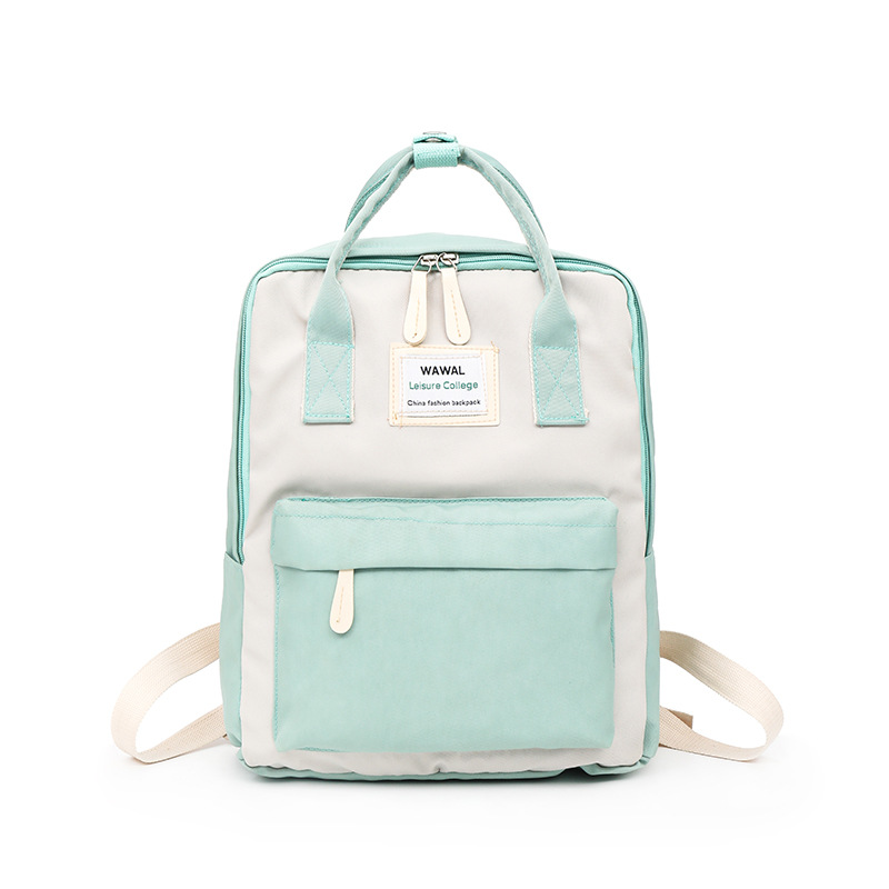 New Cute Canvas Fashion Backpack Female Kanken Backpack Design for Girls Leisure Travel School Bags image