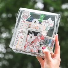 Storage-Bag Object Korean Transparent Large-Capacity Small Waterproof Pvc Wind Tianzi