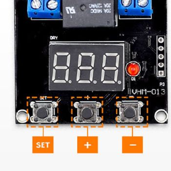 Timer Countdown Switch Module 0-999 Minutes Setting Range Delay Board 63HF dkj y 60 minutes 15a delay timer switch for electronic microwave pressure oven cooker