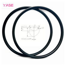 29er MTB Boost XC carbon disc rim 30x25mm asymmetry tubeless hookless mountain bicycle wheel carbon disc mtb rim ERD 589mm 390g