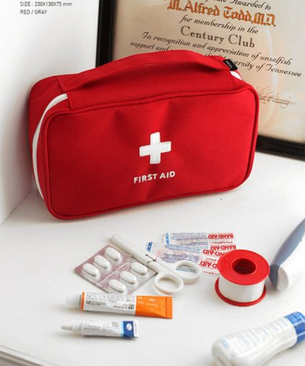First Aid Kit Emergency Medical Box Portable Travel Outdoor Camping Survival Medical Bag Handbag Emergency Kits Medical Bag