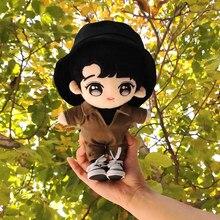 Limitada el Untamed Wang Yibo Star, 25cm, muñeca, ropa con capucha, MTJJ Sa, almohada, accesorios de Cosplay, regalos de navidad