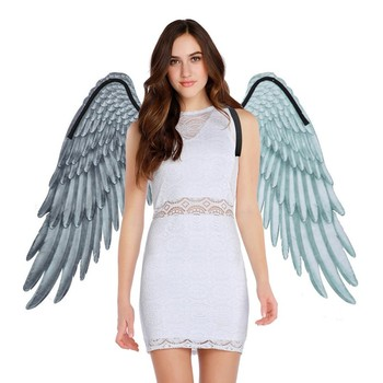 wings Angel Wings Mardi Gras Theme Party 3D Cosplay Wings For Kids Adults Big Wings Costume HOT
