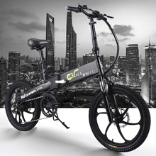 350w Electric bike 20 inch Motorcycle 48v electric Folding Bicycle bike Mountain e bike Cycling electric Snow Bike fat tire 2018 hot selling 48v 1500w snow fat e bike electric mountain bike electric bike electric bicycle
