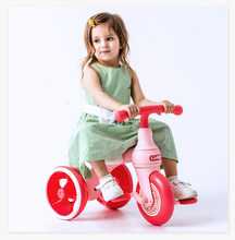 Kids Scooter Baby Trike 2 In 1 Stroller Slipped Her Car Baby Carrier Baby's Bicycle Baby Walker Kids Bike(China)