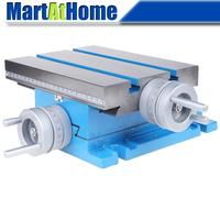 225*175mm Drilling Milling Machine Cross Slide Table Work Table XY with Ruler XY Travel 105x90mm