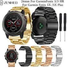 26mm Replacement band For Garmin Fenix 5X/5X Plus frontier/classic bracelet accessories 3/3 HR Smart Watch