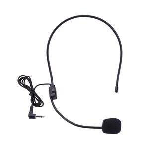 Image 1 - Draagbare Headset Microfoon Wired 3.5Mm Jack Condensor Met Mic Voor Luidspreker Voor Tour Guide Onderwijs Lezing Microfoon