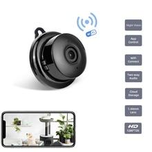 Tigenkey Draadloze Mini Wifi 720P Ip Camera Cloud Storage Infrarood Nachtzicht Smart Home Security Babyfoon Bewegingsdetectie
