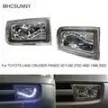 1 Set di Paraurti Anteriore Led Della Luce di Nebbia per Toyota Land Cruiser Prado 90 Serie 2700 3400 1997 2002 Nebbia lampada
