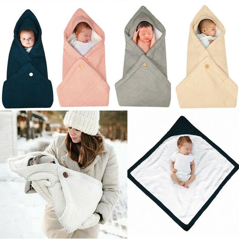 Babies Sleeping Bags Newborn Baby Cocoon Swaddle Wrap Envelope Baby Blanket Swaddling Wrap