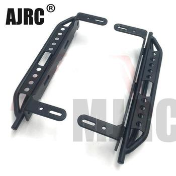 1pair Metal Side Pedal For 1/10 RC Crawler Car Traxxas TRX4 Defender Bronco Side guard plate Aluminium alloy Foot pedal
