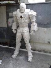 Película Iron Man War, armadura para casco 1:1, portátil, modelo de papel 3D, Cosplay