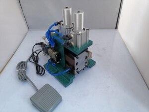 Image 4 - Máquina de descascamento vertical 3f, máquina de descascamento pneumática, máquina de descascamento do fio da multi costa revestida