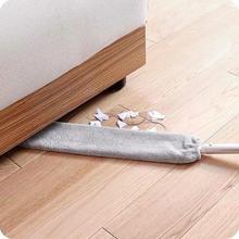 Съемный пылеочиститель для дивана, кровати, мебели, нижней чистящей щетки, ручная длинная ручка, плоская головка щетки для углов
