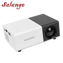 Salange YG300 projetor mini 320x240 pixels, suporte 1080p YG-300 hdmi usb áudio e vídeo beamer