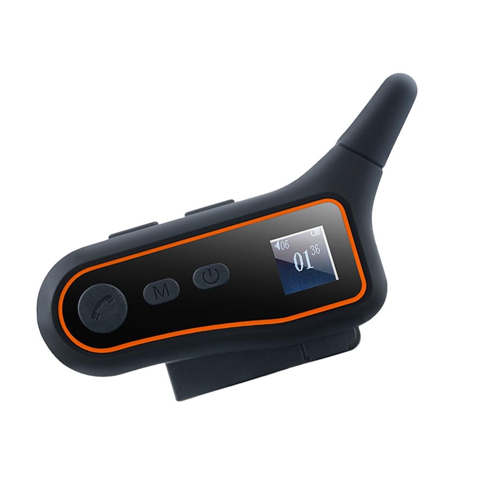 Interphone Interphone Bluetooth moto, casque de groupe système de Communication casque moto, portée 3000m